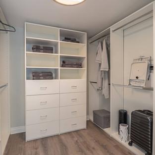 Master Bedroom - Walk-in Closet