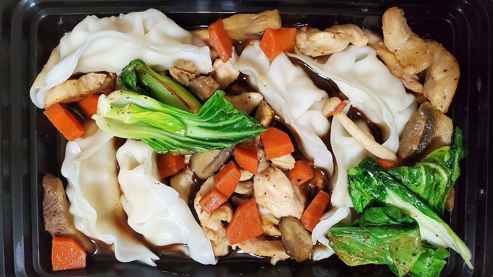 General Tso Chicken & Dumplings, Fam Pack