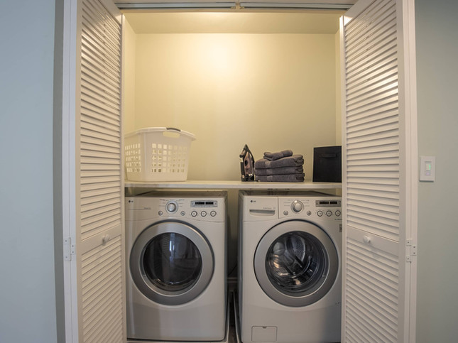 Laundry Room - Washer & Dryer