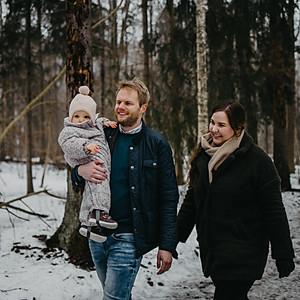 Kathrine Hermasen- Familie