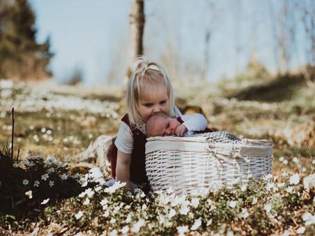 Nyfødt i hvitveis