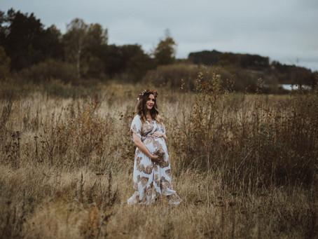Høstlig gravidfoto