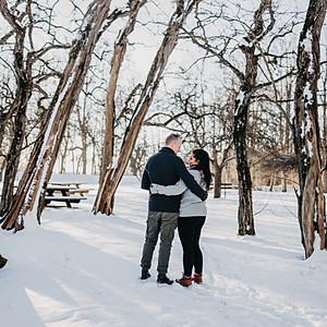 Nadia og Atle- Forlovelsesfoto