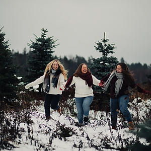 Nora Hjelde- Familiefoto/jul