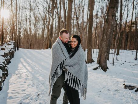 Nadia + Atle // Winterlove