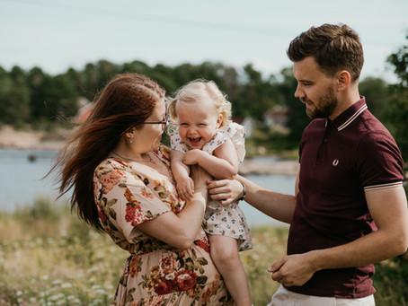 Familiefotografering på Saltholmen
