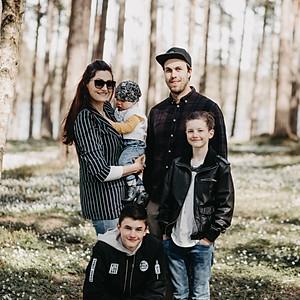 Wioletta // Familiefoto