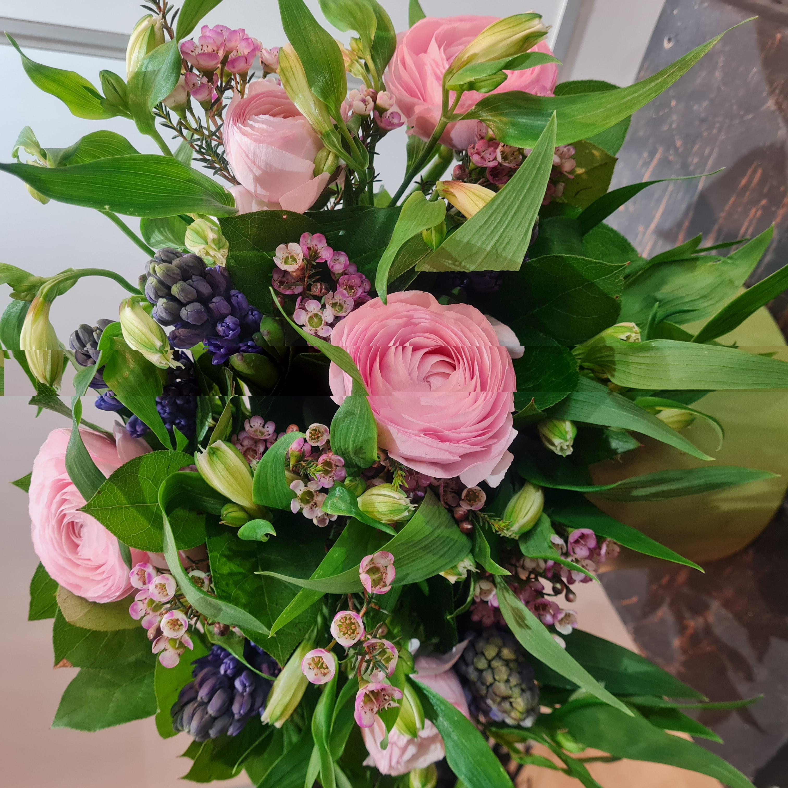 Le bouquet parfumé