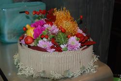 Composition de fleurs  automnale