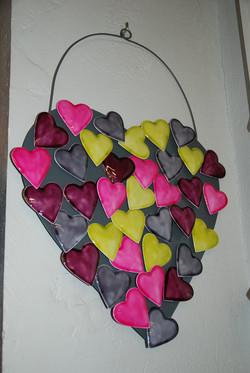 Magnets en forme de coeur