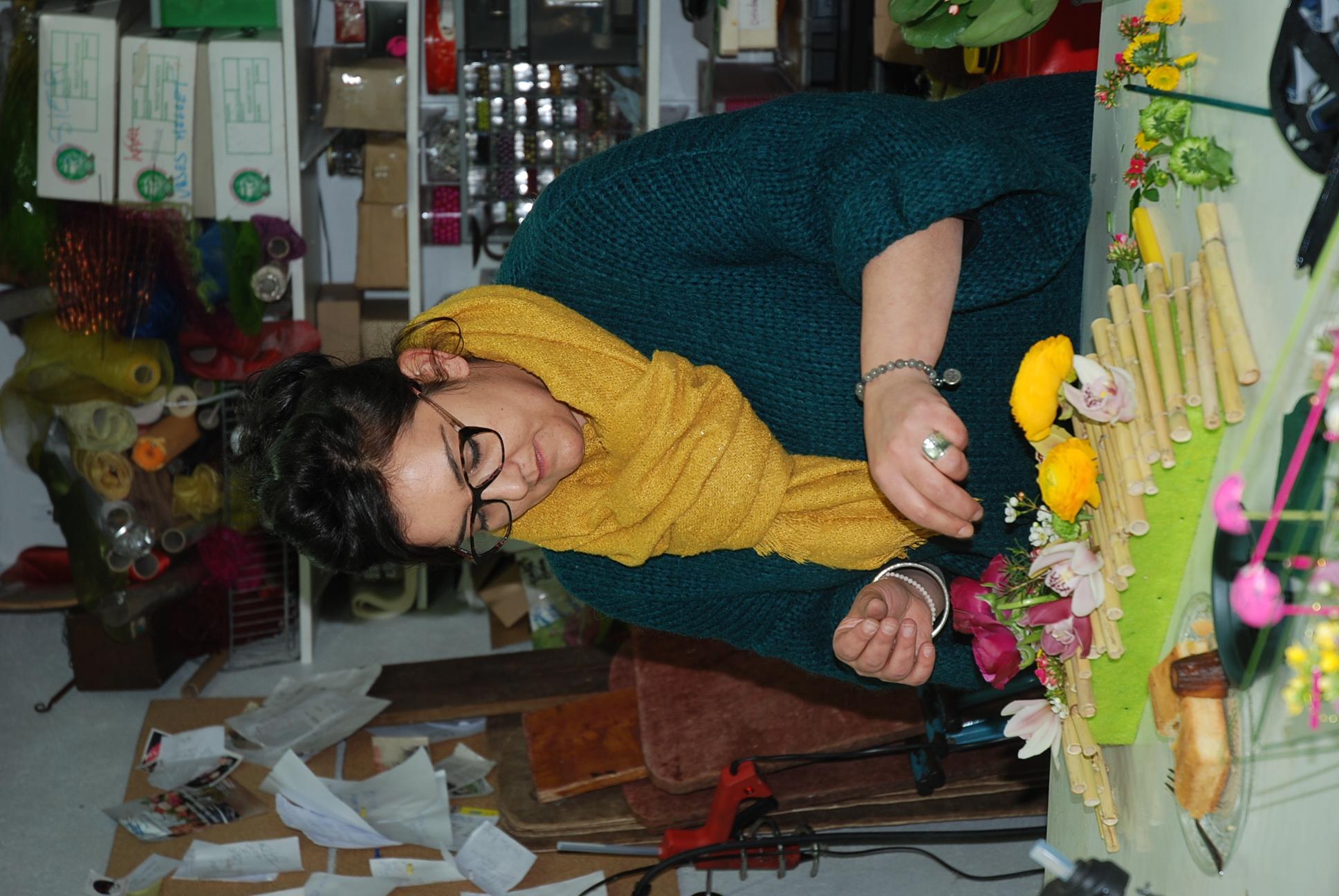 Cours d'art floral adulte