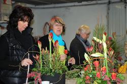 Cours d'art floral, adulte