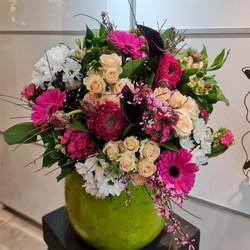 Le bouquet rond