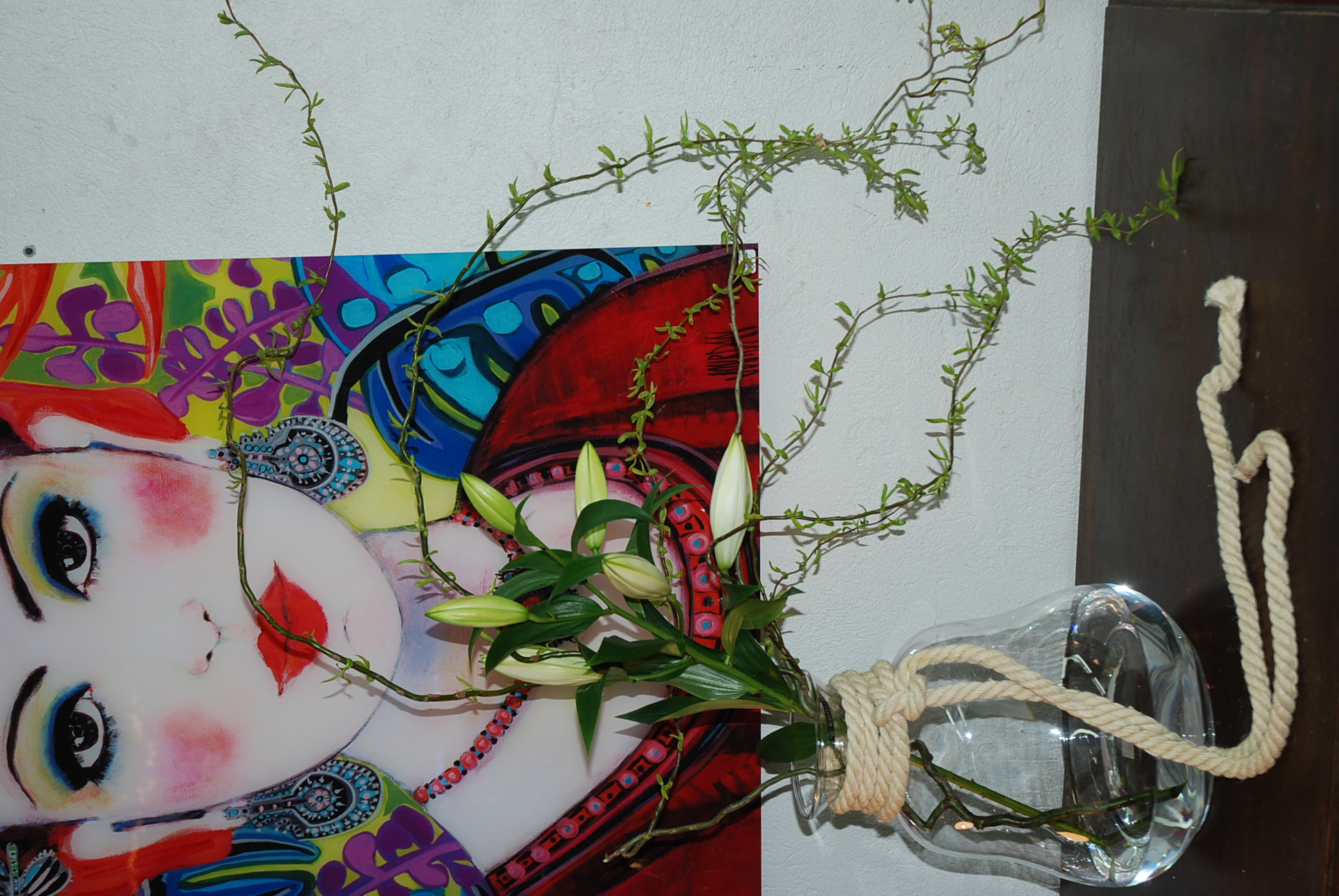 Vase et Corde