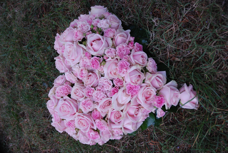 Coeur en roses