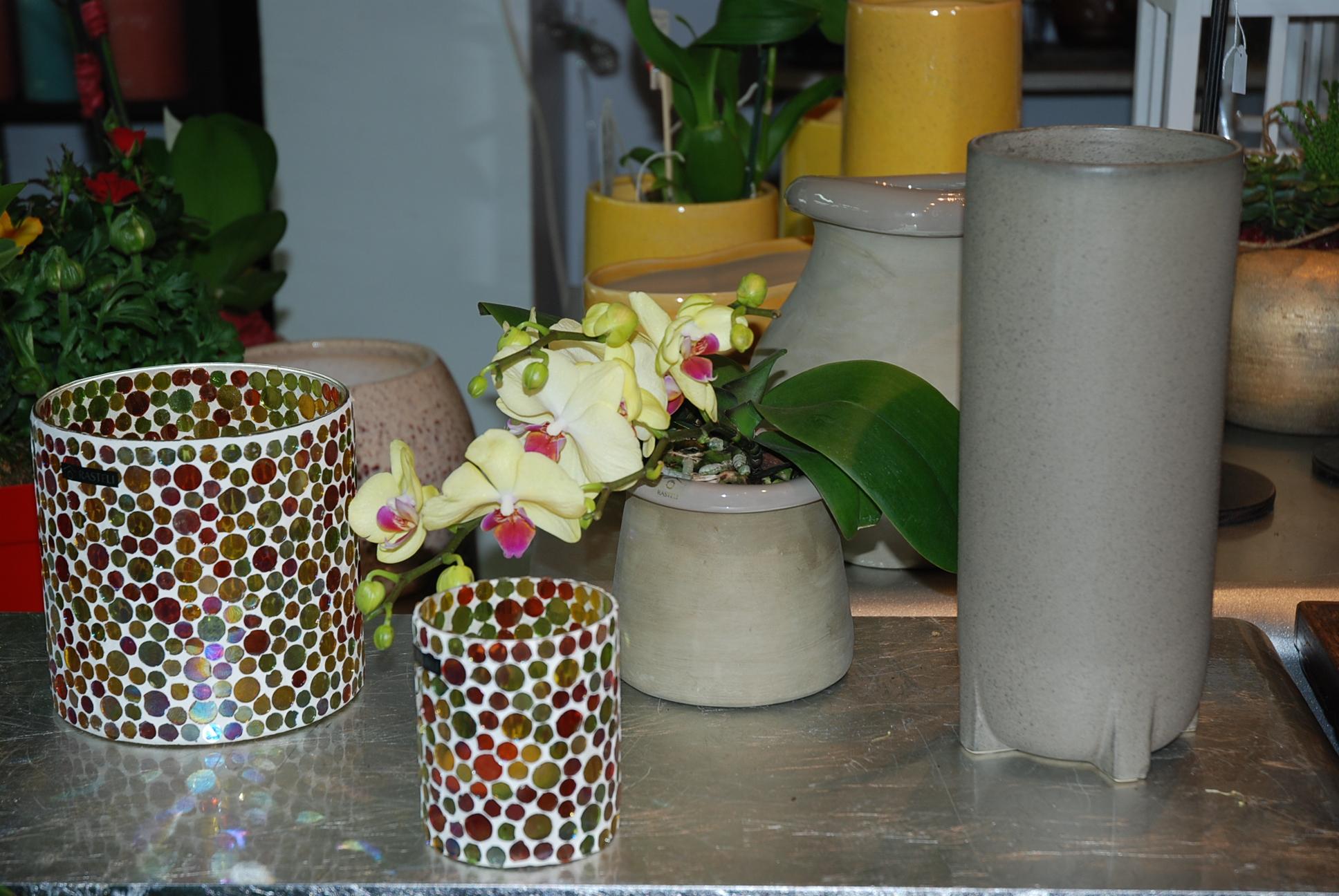 vase émaux ou photophore