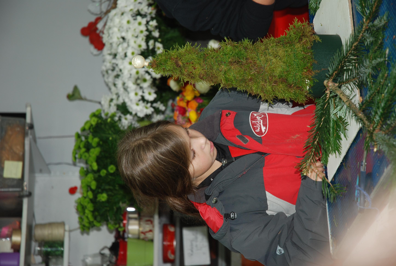 Cours d'art floral enfant