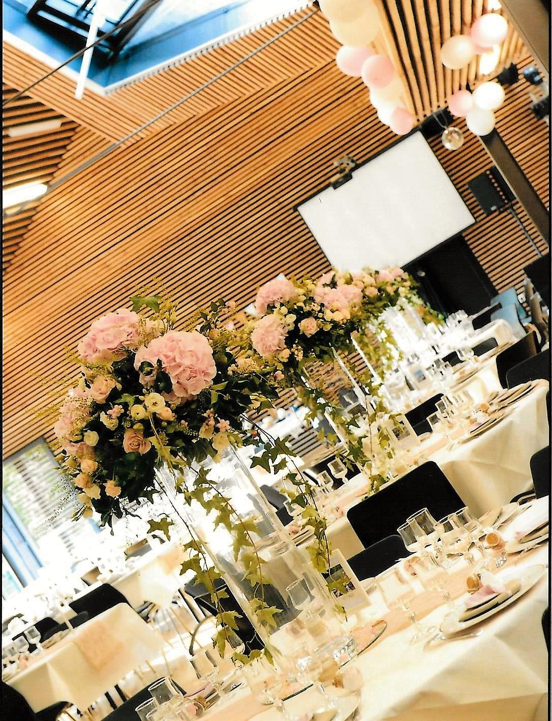 Centre de table pour mariage