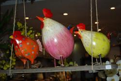 les poules de pâques