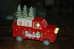 Le camion du Père Noel
