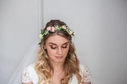 couronne de mariée, bohème chic
