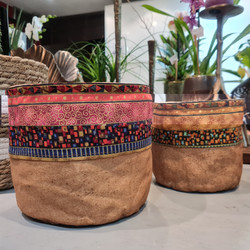 vases iou cache pot ambiance mexicaine