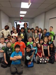 Wixom Elementary Author Visit