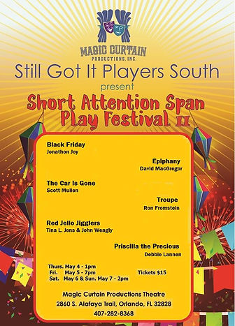 Short Attention Span Play Fesival II Pos