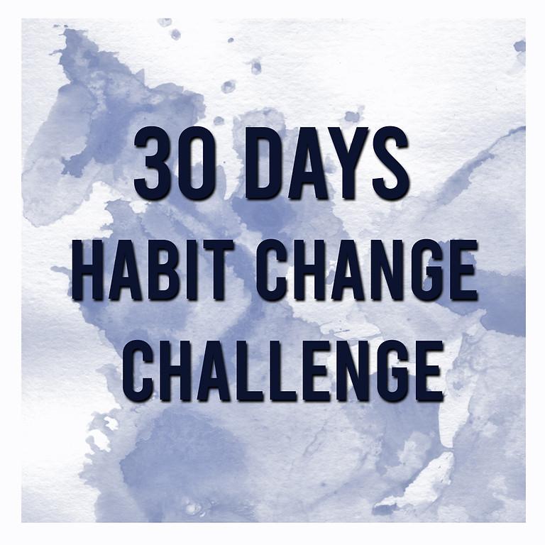 30 day Habit change challenge1