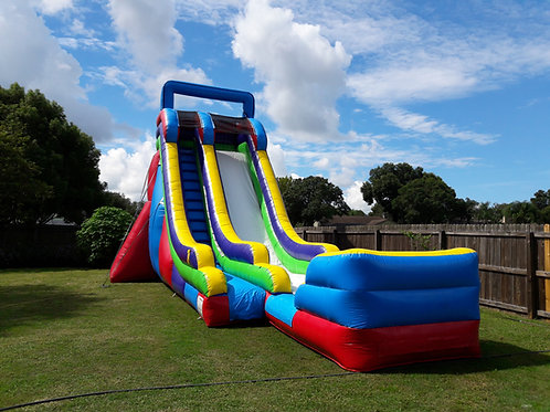 "22ft ""SCREAMER"" Water Slide (Great for children, teenagers, and large adults)"
