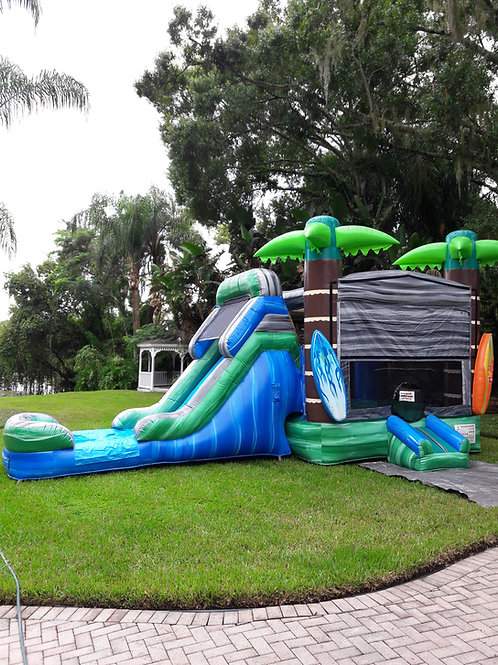 Tropical Combo- AIR COOLED! DRY or WATER SLIDE