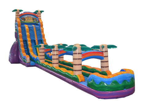 27ft TALL MAUI WOWIE with Rainbow Slip n Slide (ALL WEEKEND RENTAL ONLY)