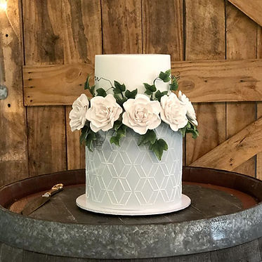 Brisbane Wedding cake