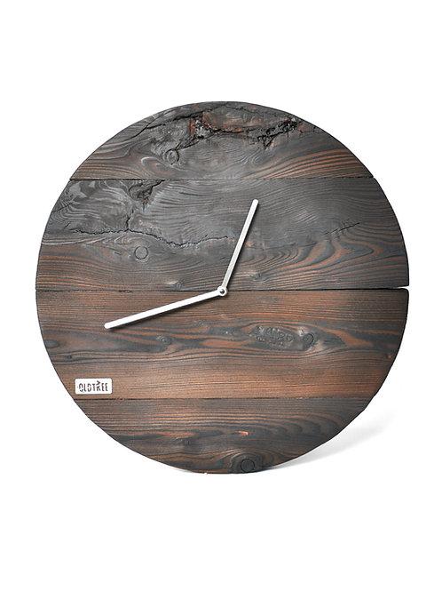 Zegar ścienny LOFT - modrzew PALONY