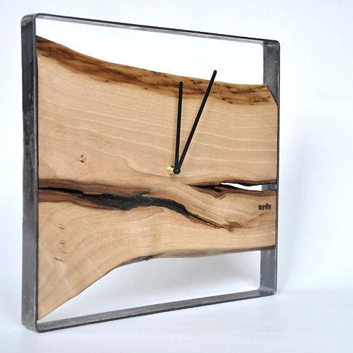 Zegar LOFT - kwadrat - 40 cm