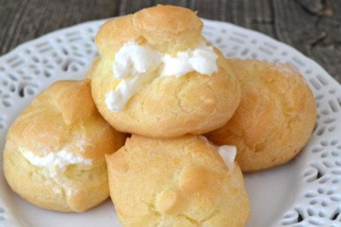Cream puffs  (6)