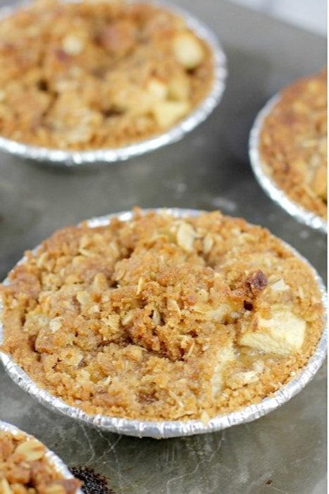 """Mini Apple Crumb Pie 5"""""""