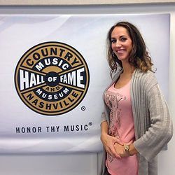 Music Row Voice's Coach performing at Country Music Hall of Fame
