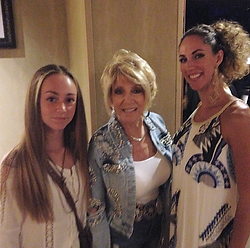 Alex & Janine Le Clair with Grand Ole Opry Member Jeannie Seely