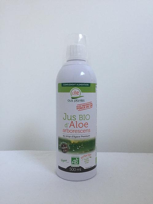 Jus Bio d'Aloe arborescens au sirop d'agave