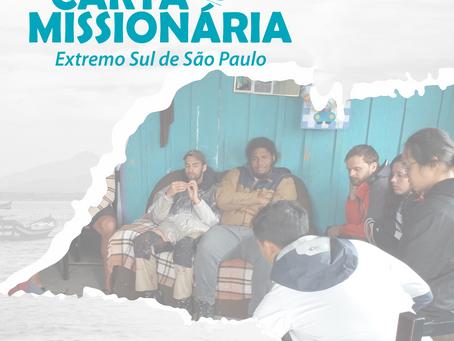 Extremo sul de São Paulo, onde anunciamos o Evangelho de Cristo
