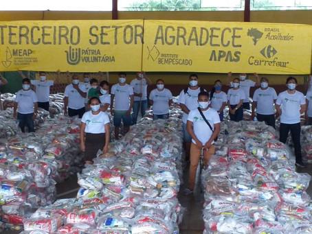 Instituto Bempescado Celebra Parcerias e Distribui Cestas Básicas Durante a Pandemia