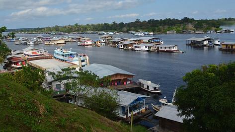 Casas para obreiros nas bases | Amazonas