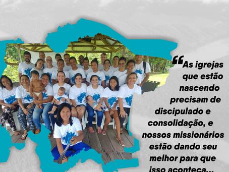 Nossos missionários estão dando seu melhor