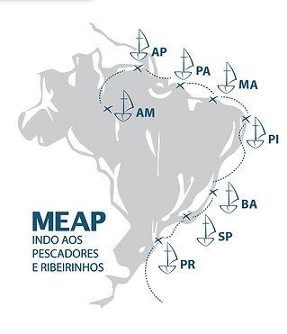regiões onde a meap atua