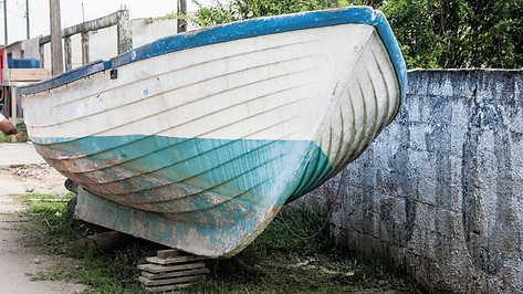 Garagem para Barcos   Ariri/SP
