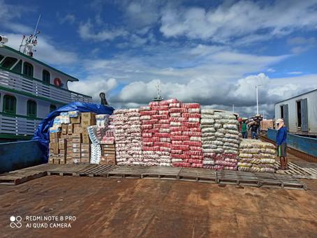 Instituto Bempescado distribui milhares de cestas básicas às comunidades ribeirinhas