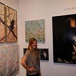Showing in LA at AAF Art Fair mixed medi