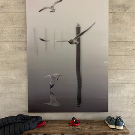 Large scale lenticular print commission