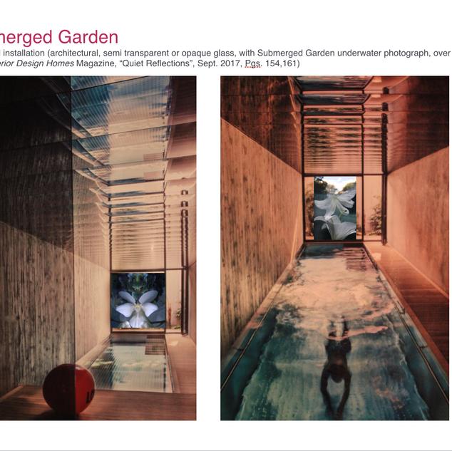 Rendering: Submerged Garden Series